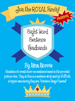 Sight Word Sentence Headband Freebies!