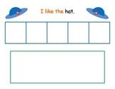 Sight Word Sentence Mats - Color