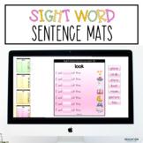 Sight Word Sentence Mats for Google Classroom™/Slides™