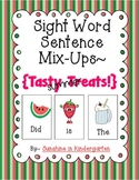 Sight Word Sentence Mix-Ups {Tasty Summer Treats}