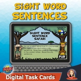 Sight Word Sentence Practice with Digital Boom Cards for D