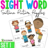 Sight Word Sentence Puzzles Primer {Part 1}