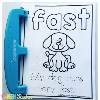 Sight Word Sentence Readers-Dolch 3rd  Grade B/W