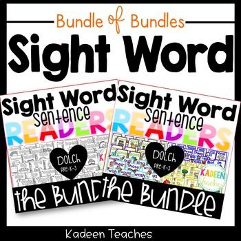 Sight Word Sentence Readers- Dolch Bundle of Bundles