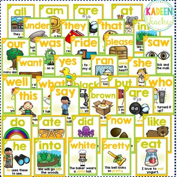 Sight Word Sentence Readers Dolch Primer