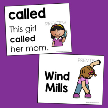 Sight Word Game using the First 100 Fry Words in Sentences  {Ideal for ESL}