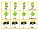 Sight Word Sentence Scramble Cards & Cut - Paste Worksheets: St. Patrick's Day