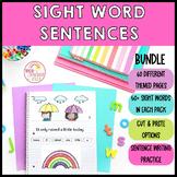 Sight Word Sentence Writing Activities