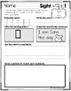 Sight Words Practice Worksheets 2