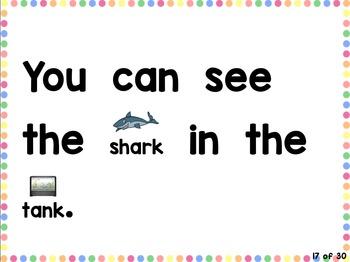Sight Word Sentences: A NEW way to practice Sight Word Fluency! (preK, K, 1st)