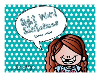 Sight Word Sentences {A Literacy Center}