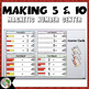 Making 5 and Making 10 Magnetic Number Center