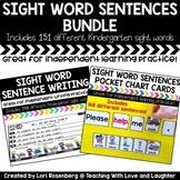 Sight Word Sentences Bundle