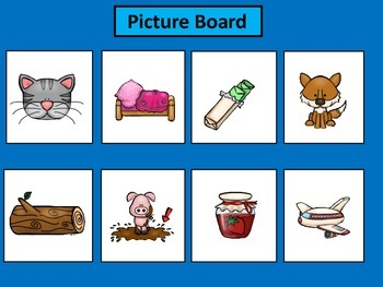 Simple Sentences Reading Game
