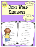 Sight Word Sentences     Dolch Primer