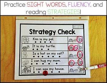 Sight Word Sentences- PREPRIMER