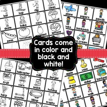Sight Word Sentences Pocket Chart Cards