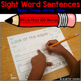 Sight Word Sentences (Fry's) {Read-Trace-Write-Glue}