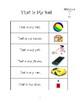 Sight Word Sentences: Volume Five