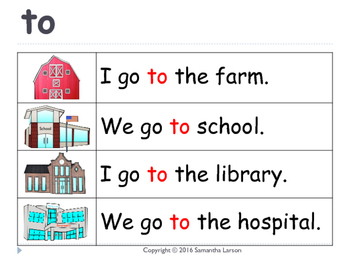 Sight Word Sentences and Phrases