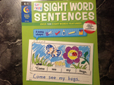 Sight Word Sentences by Creative teaching press