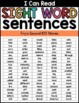 Sight Word Sentences for Sight Word Fluency {Set 2}