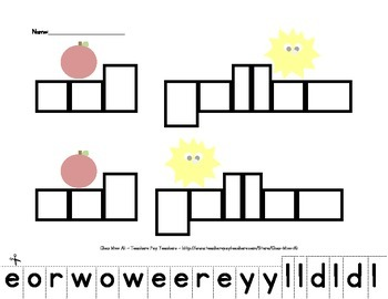 "Sight Word Series 2: ""Red"" ""Yellow"""