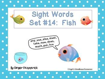 Sight Word Set #14 Fish