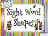 Sight Word Shapes {A Fun, Hands-On Way To Learn Sight Words}