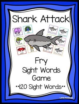 Sight Word Shark Attack