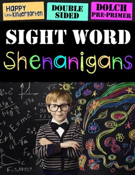 Sight Word Shenanigans