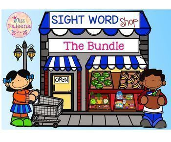 Sight Word Shop The Bundle
