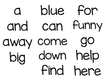 Sight Word Sign