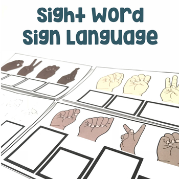 Sight Word Sign Language | Sight Word Practice