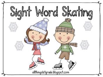 Sight Word Skating