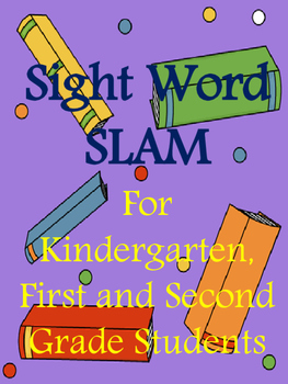 Sight Word Slam Sight Word Game