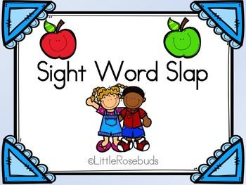 Sight Word Slap