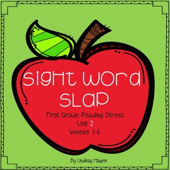 Sight Word Slap- First Grade Reading Street HFW Unit 2