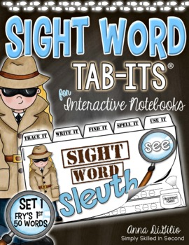 Sight Words Tab-Its™