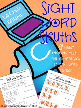 Sight Word Sleuths: 1st Grade Edition