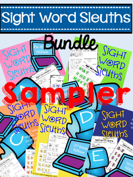 Sight Word Sleuths: Dolch Word Sampler