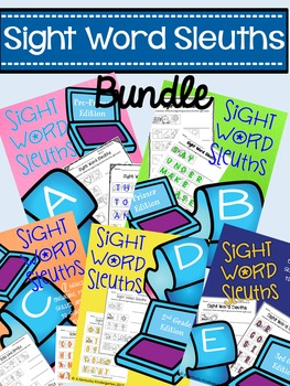 Sight Word Sleuths BUNDLE: Dolch Words