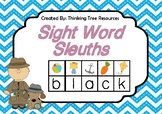 Sight Word Sleuths - Sight Word Activity