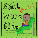 Sight Word Slide BUNDLE: Reading Street Unit 1, Weeks 1-6