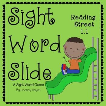 Sight Word Slide: Reading Street Unit 1.1