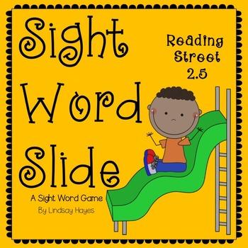 Sight Word Slide: Reading Street Unit 2.5