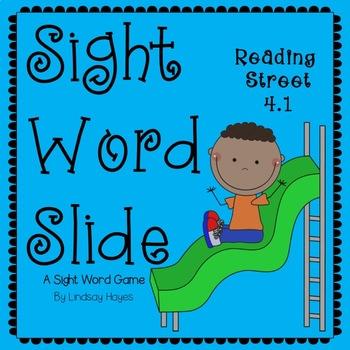 Sight Word Slide: Reading Street Unit 4.1