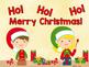 Sight Word Slide Show, Literacy First Kindergarten Words 1-50, Christmas