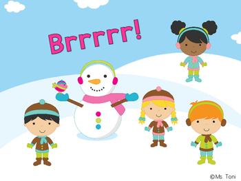 Sight Word Slide Show, Literacy First Kindergarten Words 51-100, Winter