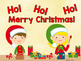 Sight Word Slide Show, Literacy First List A, Words 1-50, Christmas